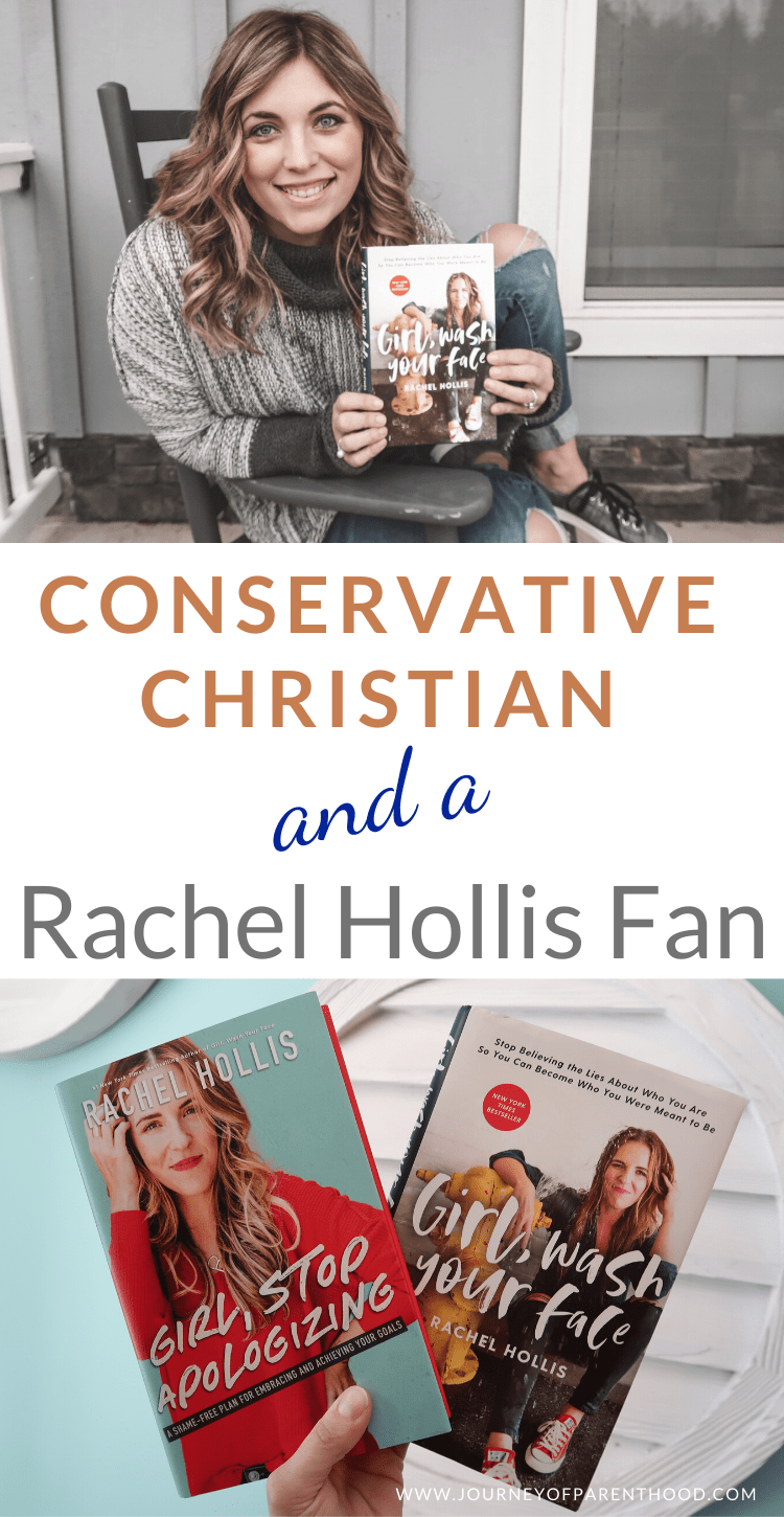 conservative Christian and Rachel Hollis Fan