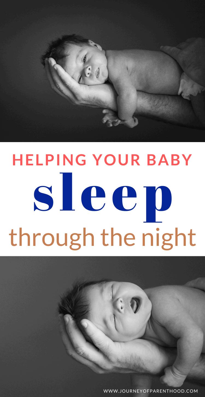 helping you baby sleep through the night