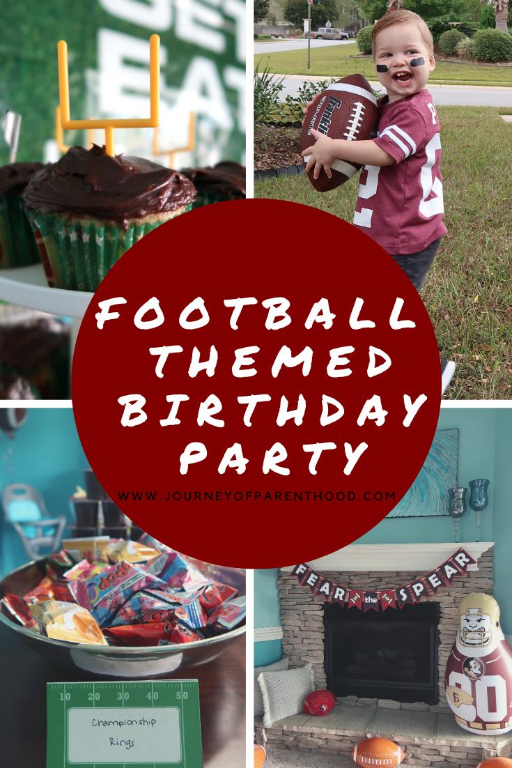 Fear the Spear – Football Birthday Party