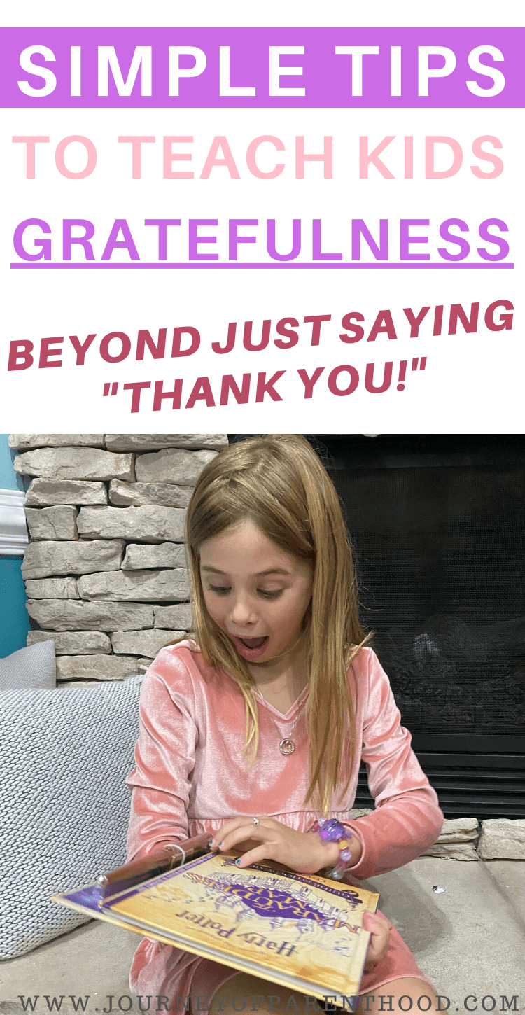 "simple tips to teach kids gratefulness beyond just saying ""thank you"""