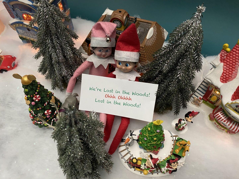 25 Super Easy Elf on the Shelf Ideas