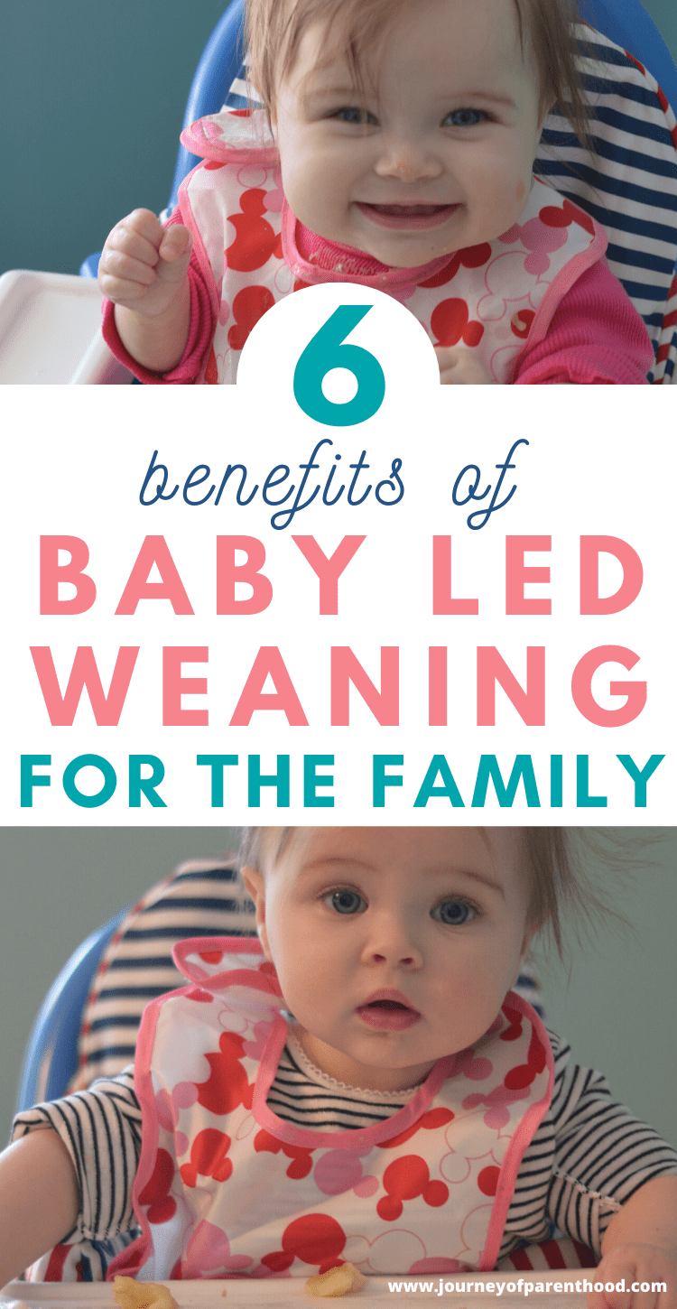 6 benefits of baby led weaning