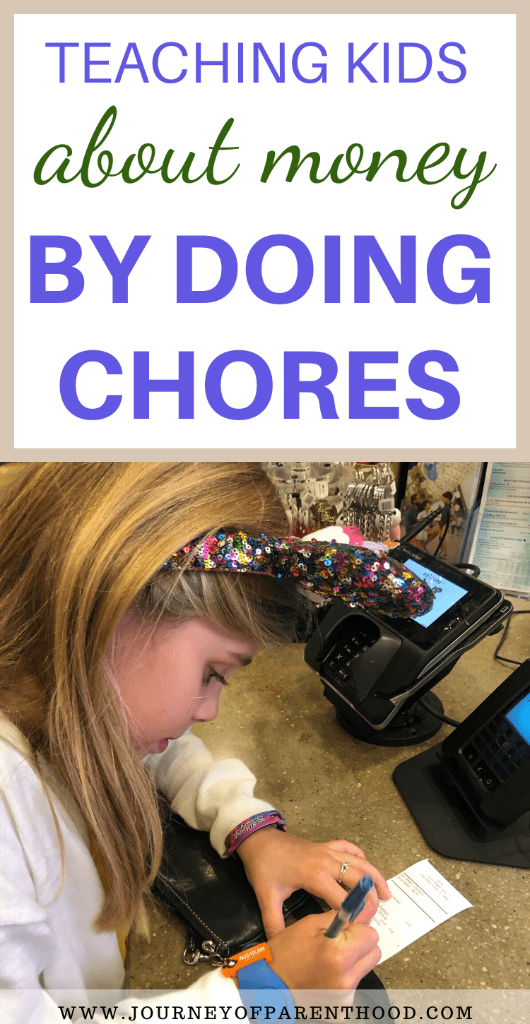 teaching kids about money by doing chores - should kids get paid to do chores? YES!