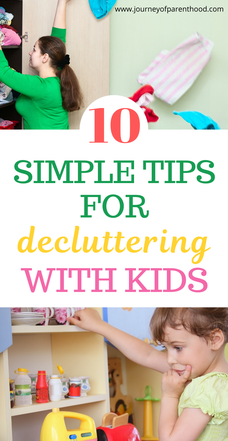 10 simple tips for decluttering with kids