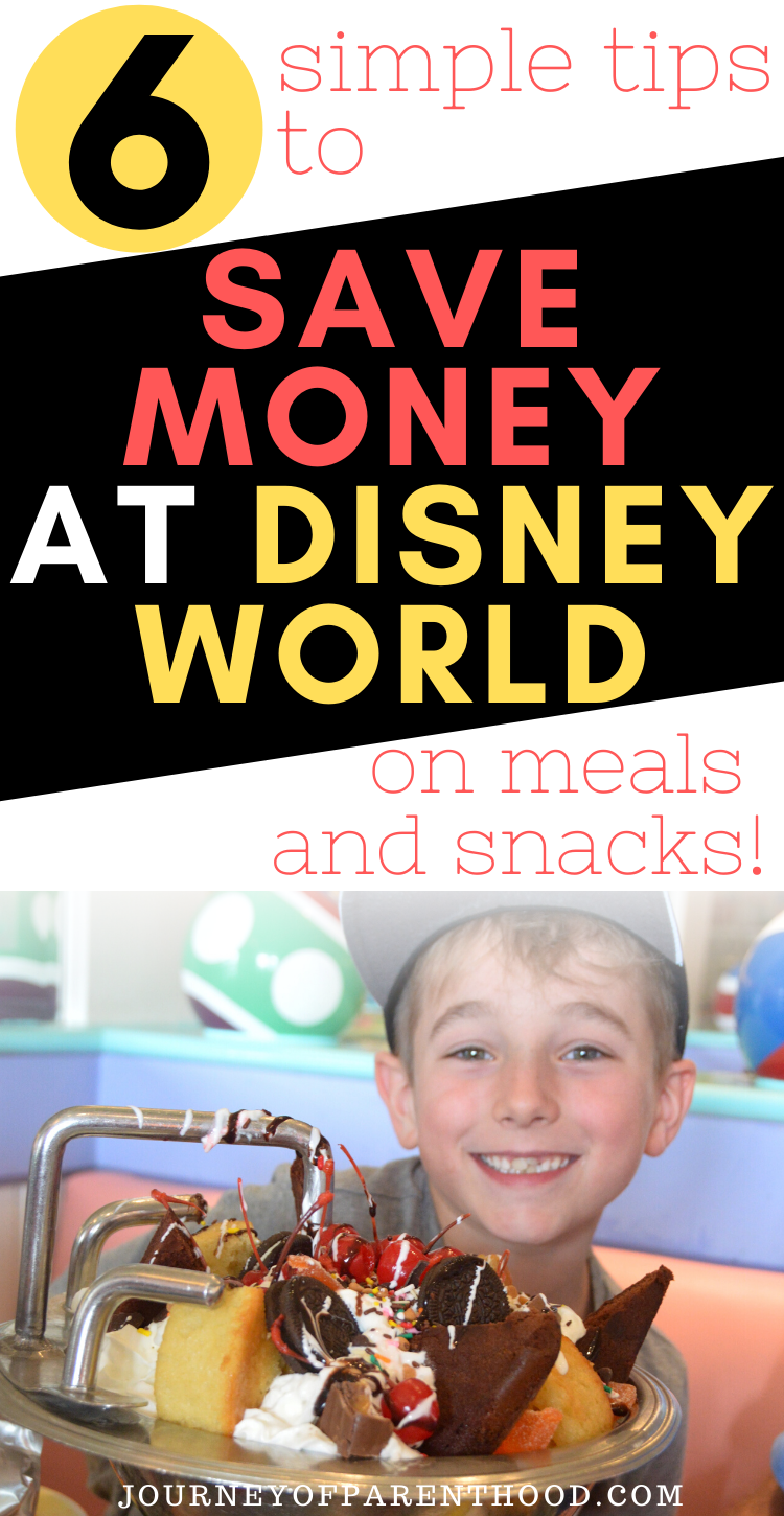 6 simple tips to save money at Disney World on meals and snacks