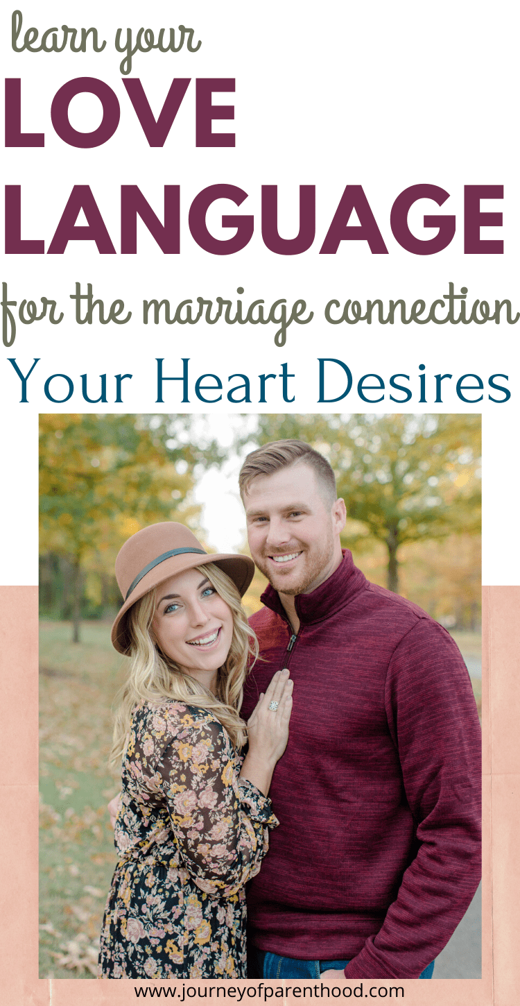 learn your love language for the marriage connection your heart desires