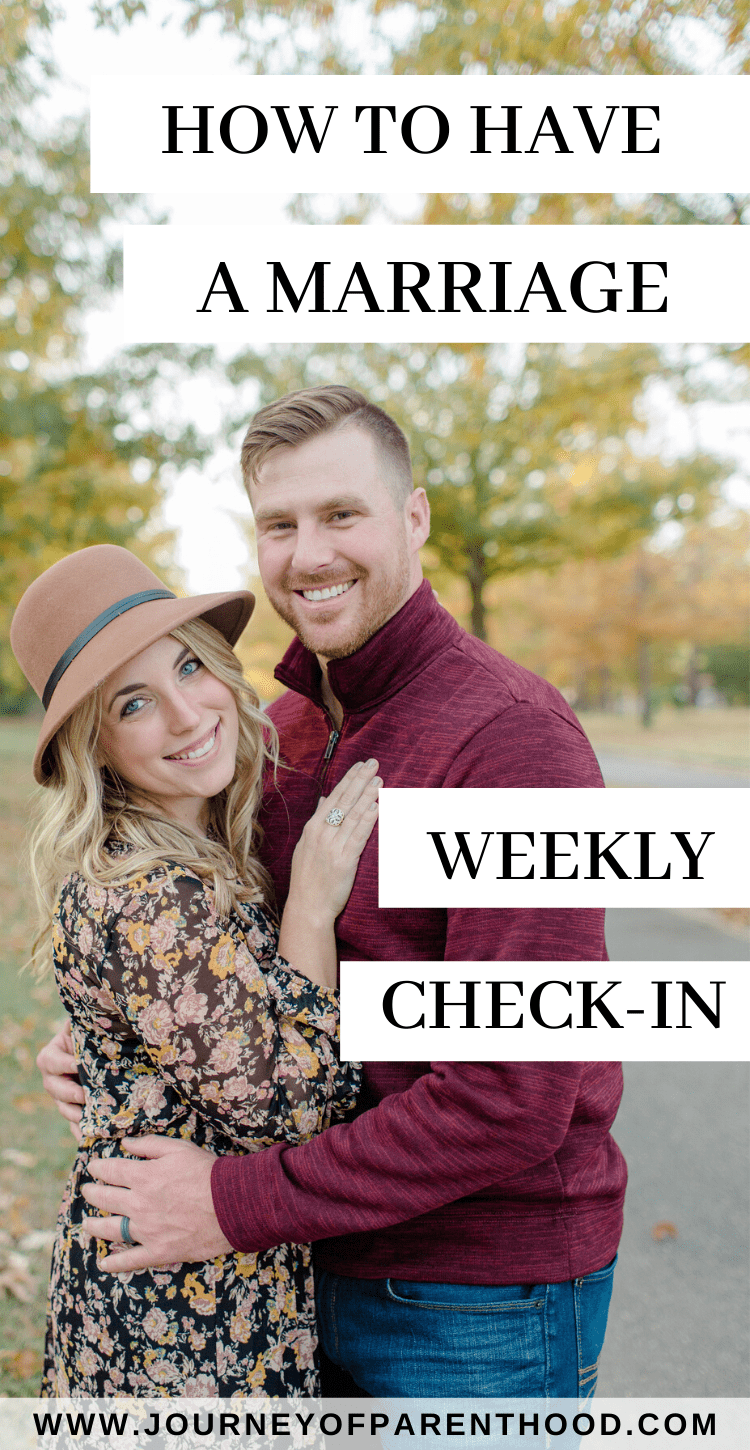 how to have a marriage weekly check-in