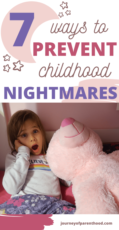 seven ways to prevent childhood nightmares