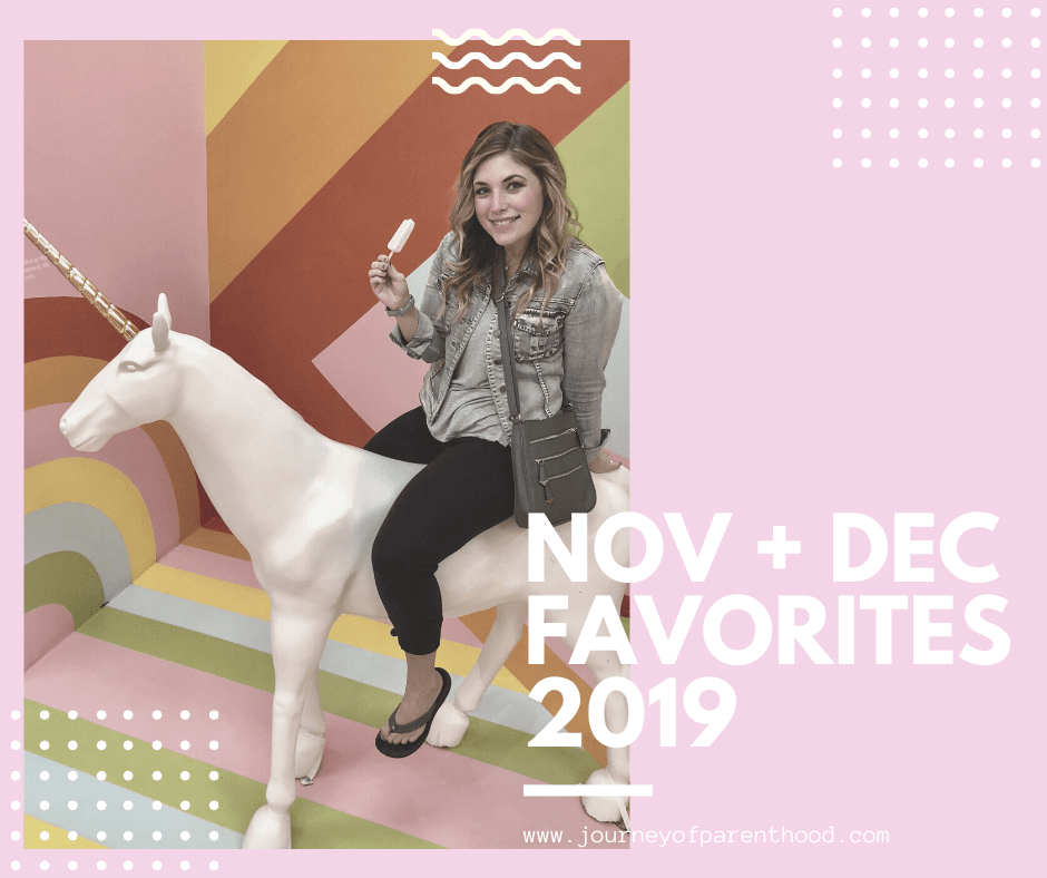 My Favorites – November and December 2019