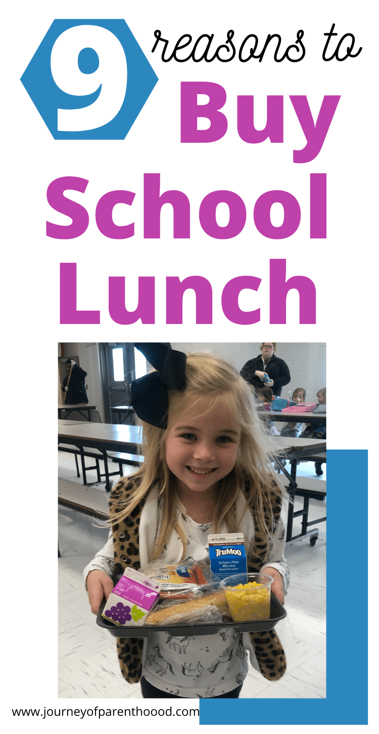9 reasons to buy school lunch