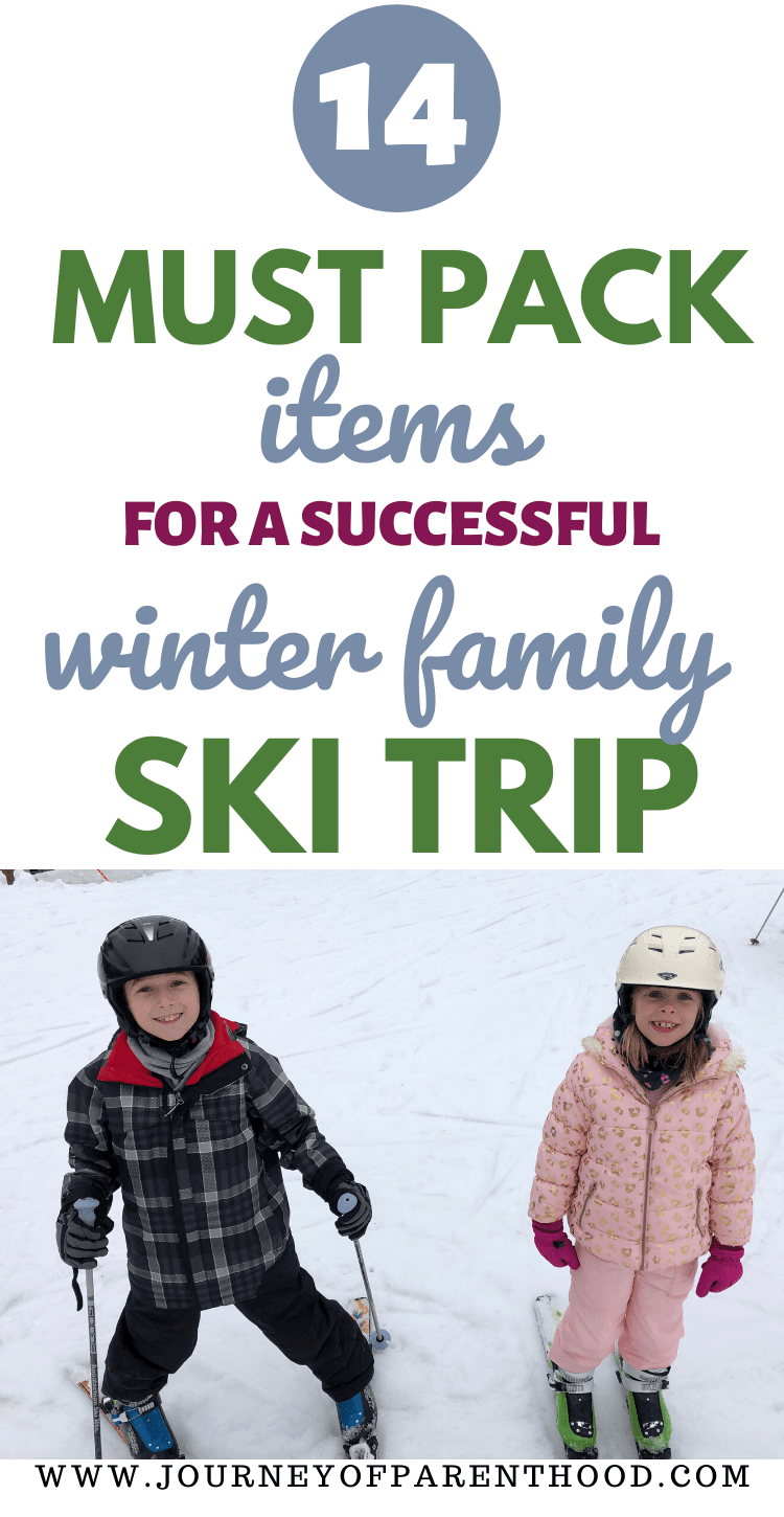14 must pack items for a successful winter family ski trip