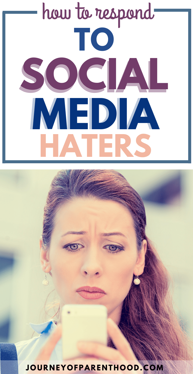 how to respond to social media haters