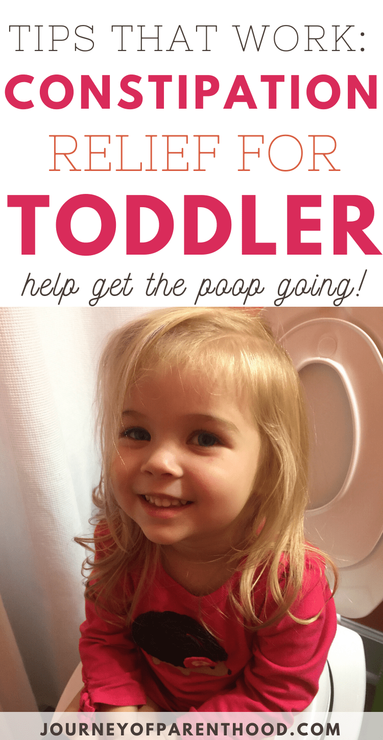 constipation relief for toddlers