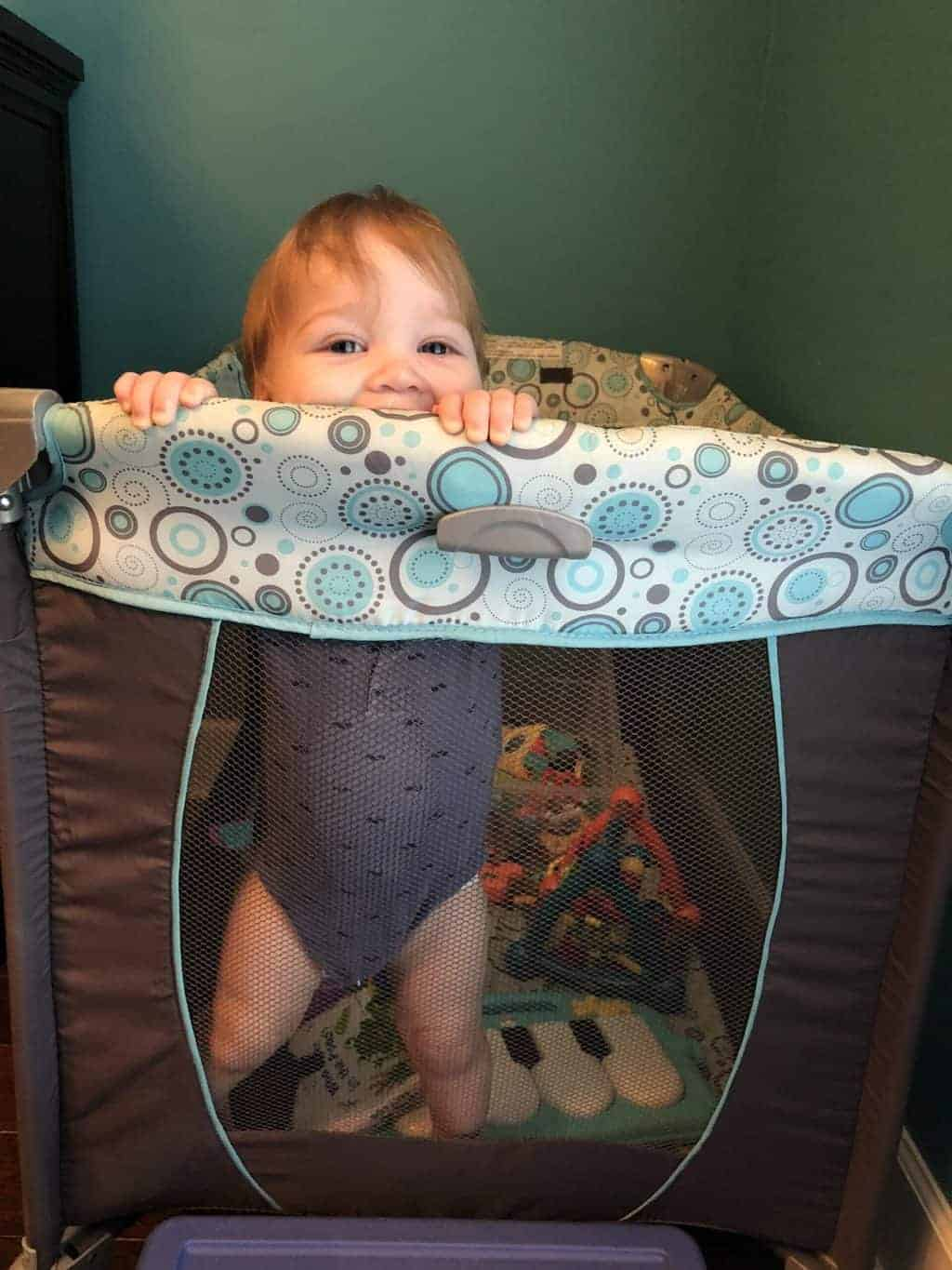 Benefits of a Pack and Play For Independent Playtime