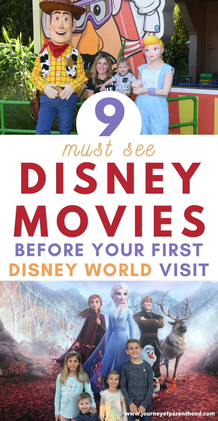 must see disney movies before a first visit to Disney World