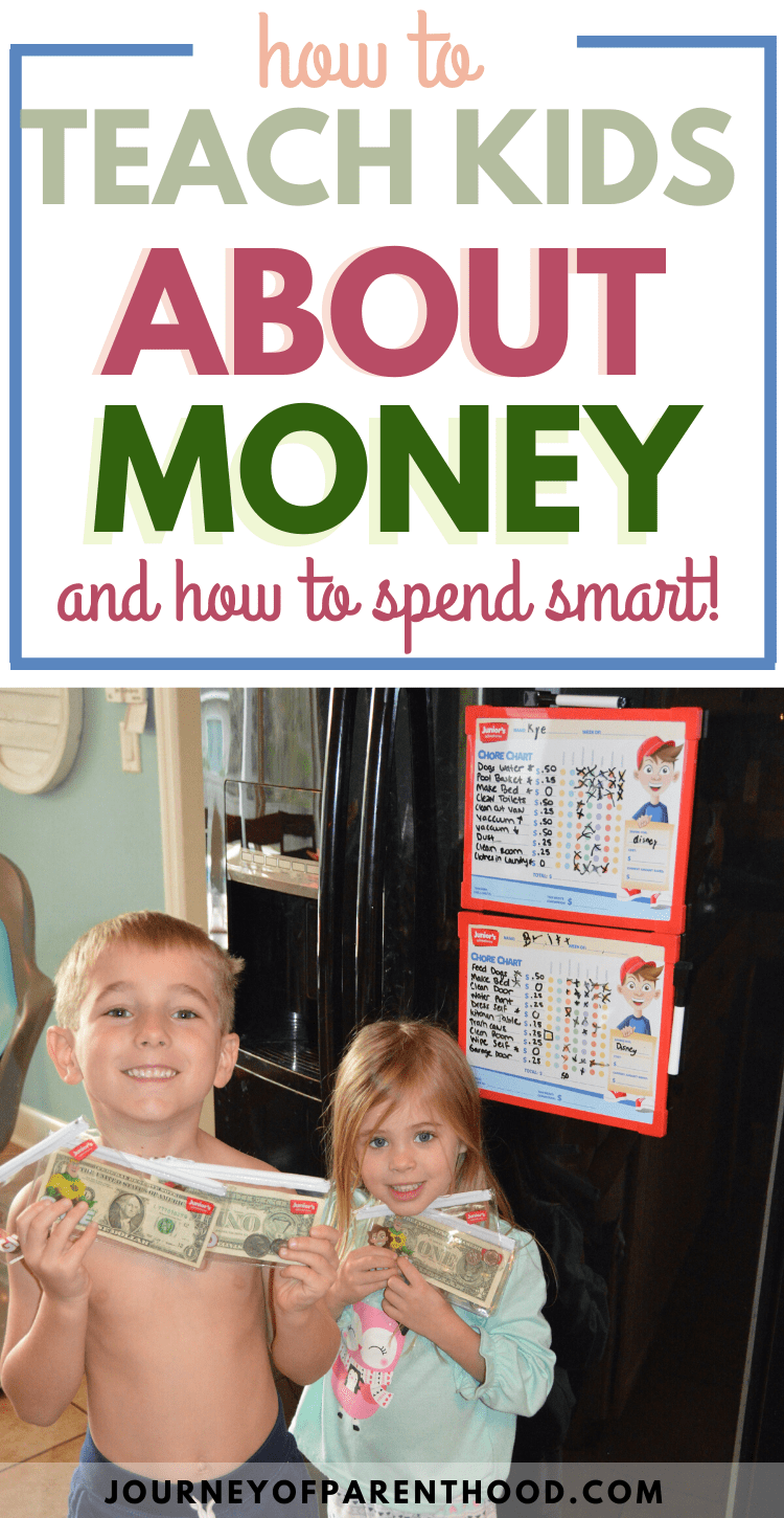 how to teach kids about money and how to spend smart