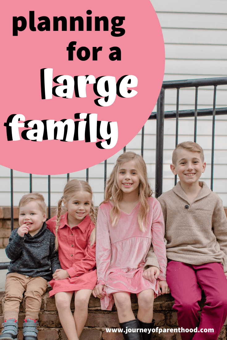 """how many kids do you want?"" preparing and planning for a large family"