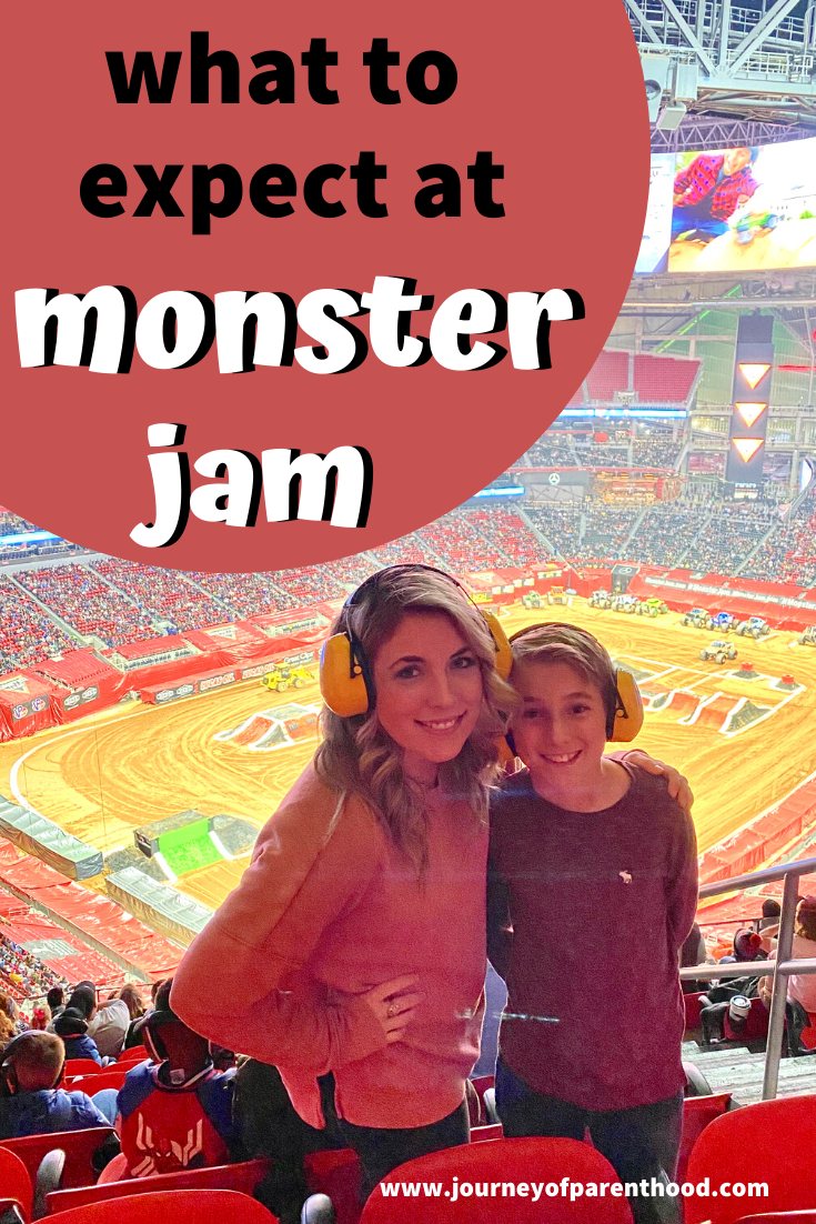 what to expect at monster jam