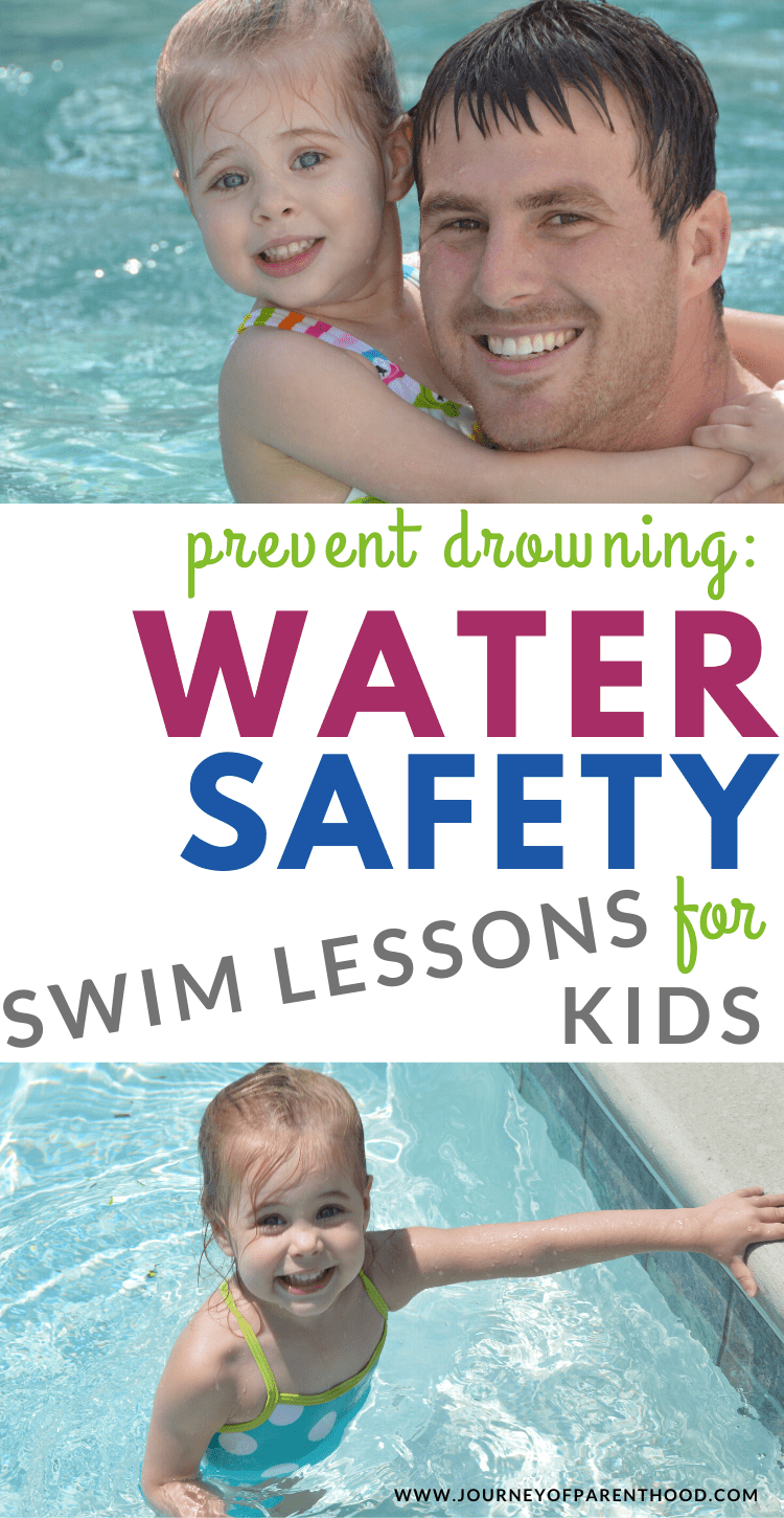water safety swim lessons for kids