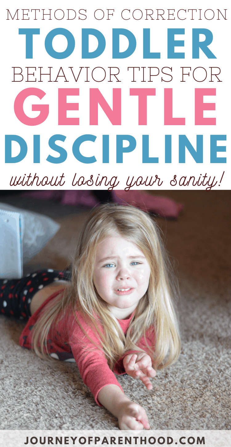methods of correction toddler behavior tips for gentle discipline without losing your sanity