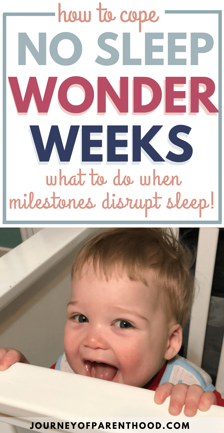 how to cope - no sleep wonder weeks - what to do when milestones disrupt sleep. babywise sleep disruption: handling the wonder weeks