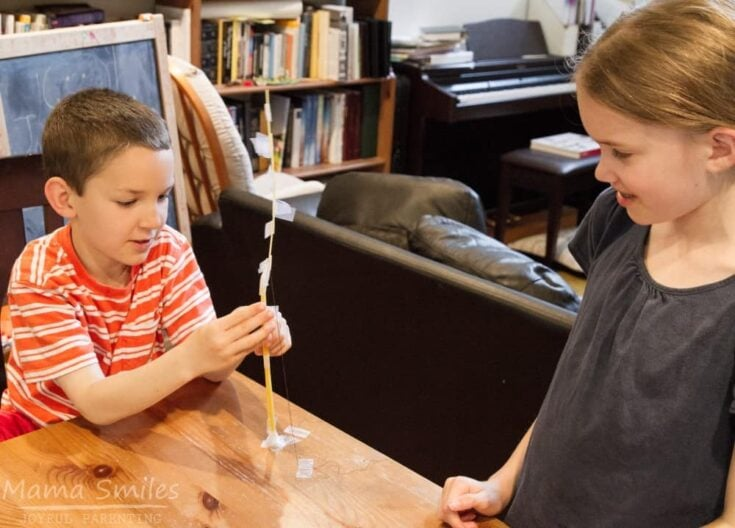 Spaghetti Tower STEM Challenge for Kids with a Twist