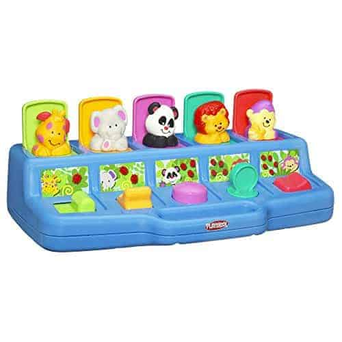 Playskool Poppin' Pals Pop-up Activity Toy for Babies and Toddlers