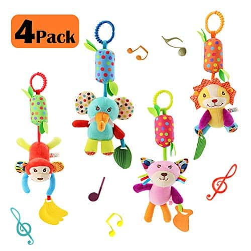 Baby Soft Hanging Wind Chime Rattle Toy