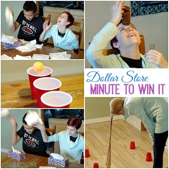 Dollar Store Minute to Win It