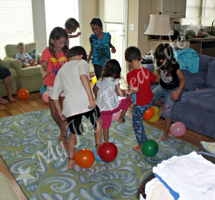 Balloon Stomp Party Game That Will Cause Endless Giggles