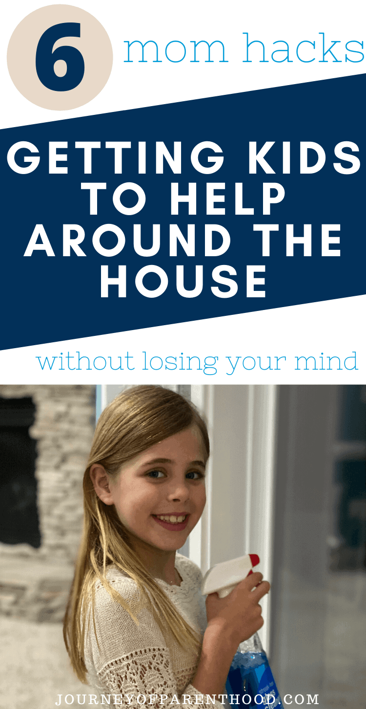 encouraging children to help with household chores