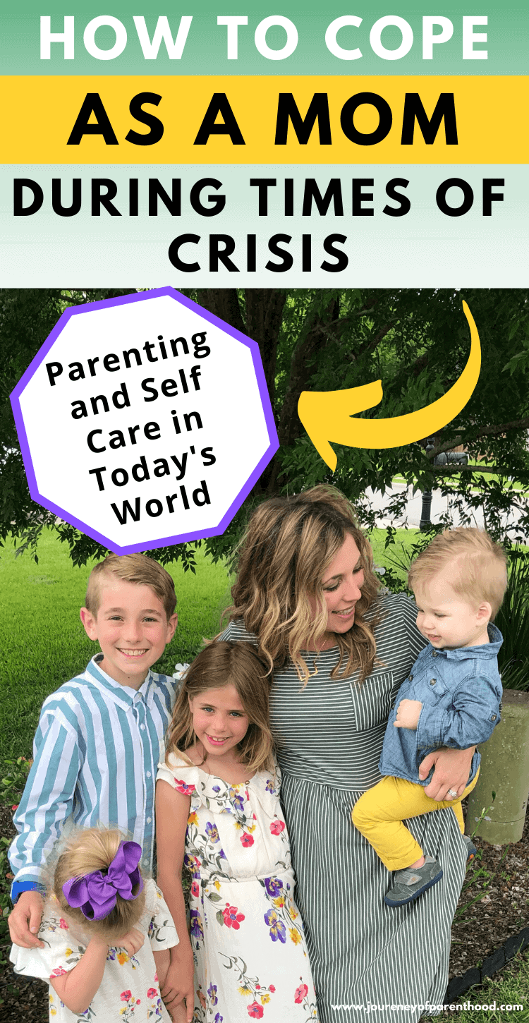 how to cope as a mom during times of crisis