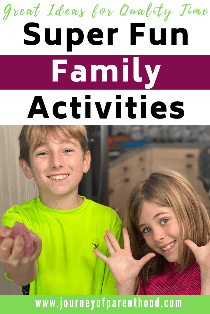 Ideas for Family Time: Fun Activities for the Whole Family