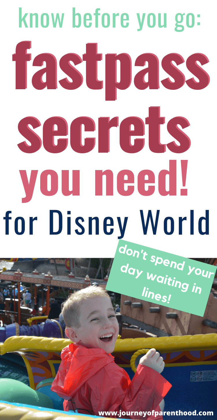 disney fastpass secrets: how to rock the fastpass system at Disney World
