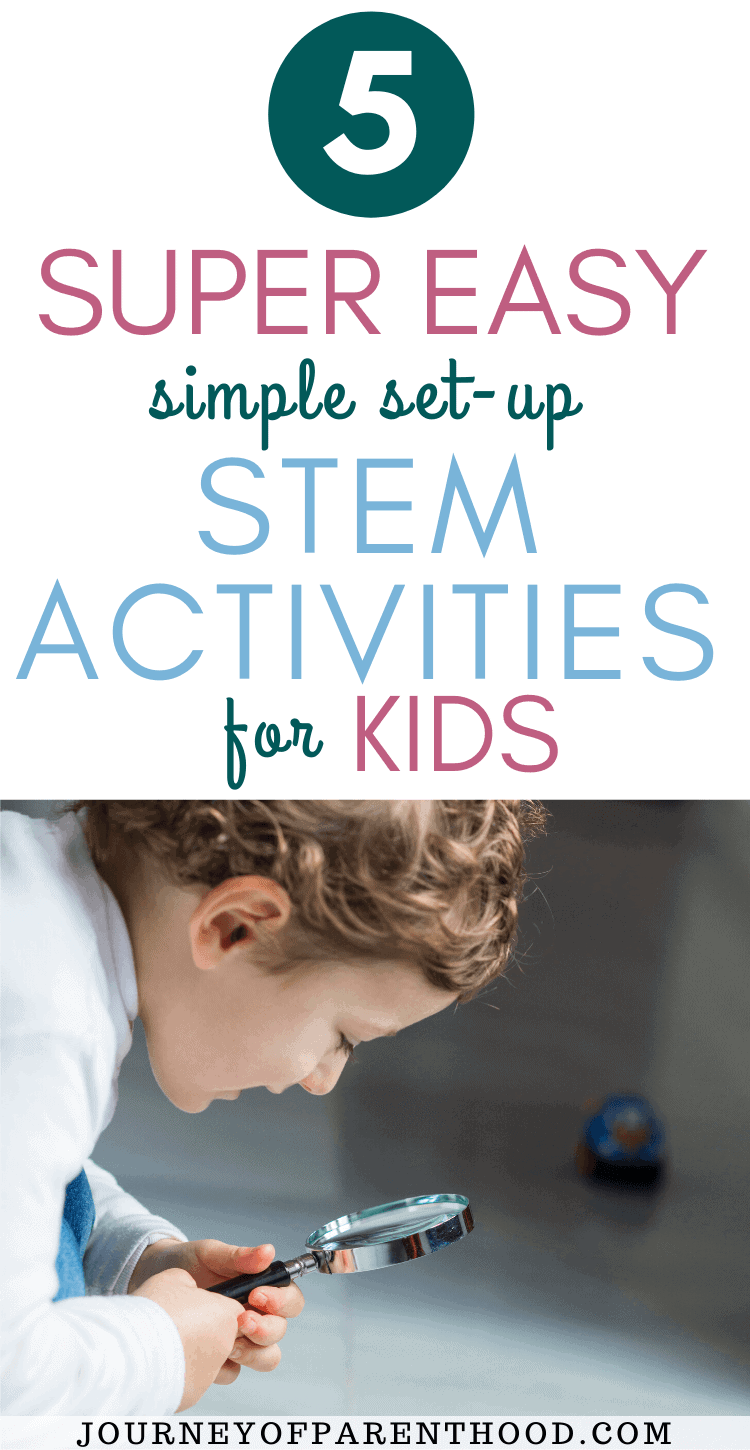 stem activities for the non-science parent