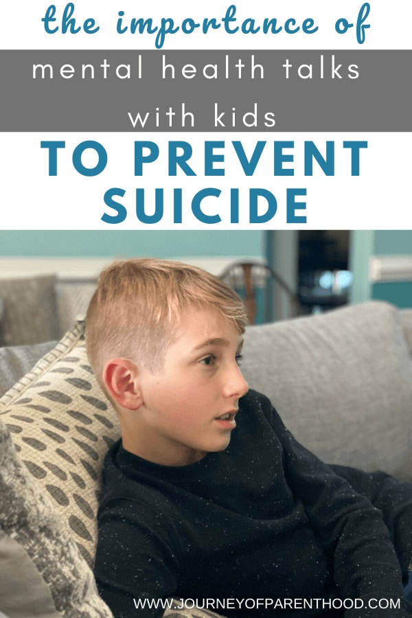 how to talk to kids about suicide