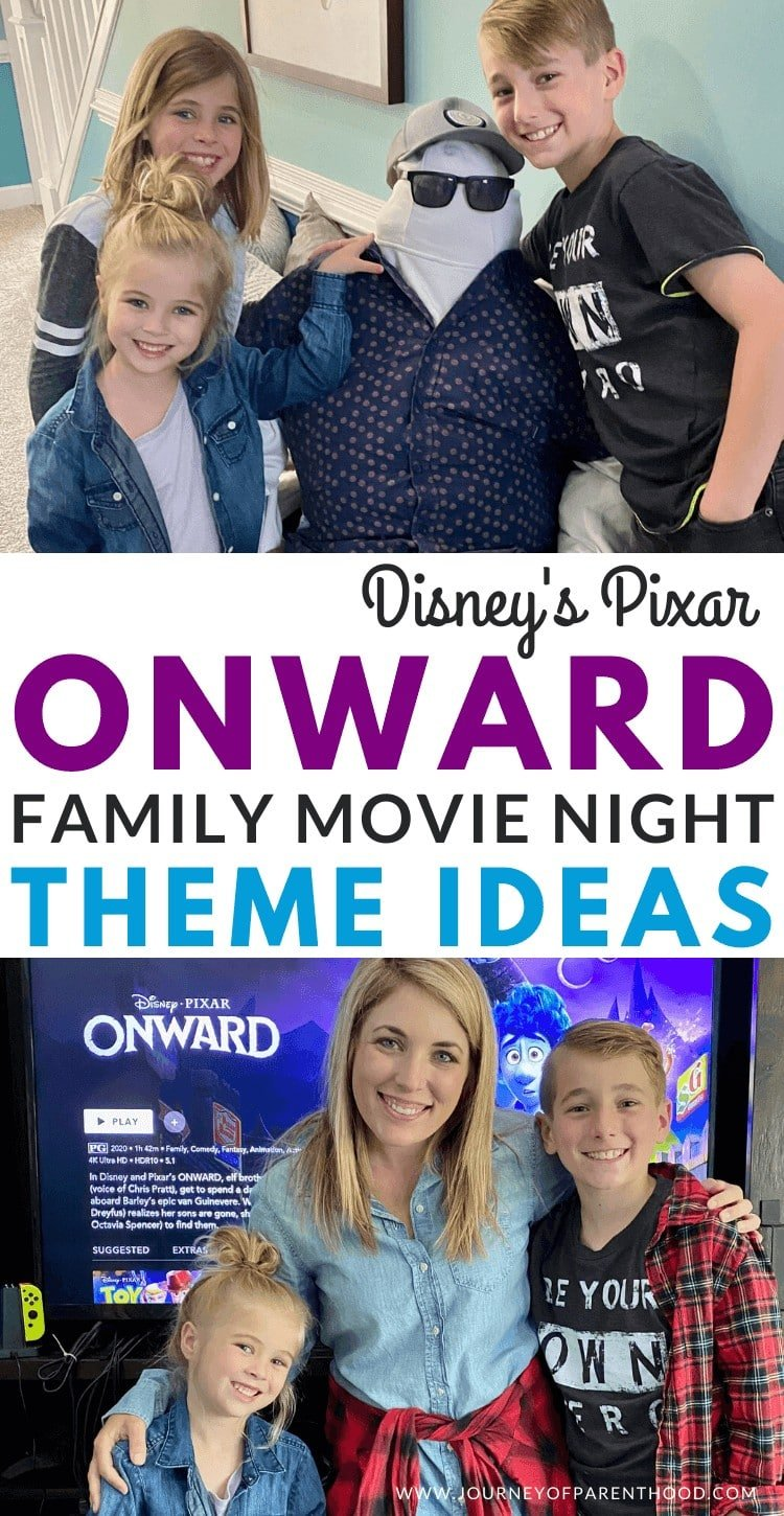 onward movie theme family night