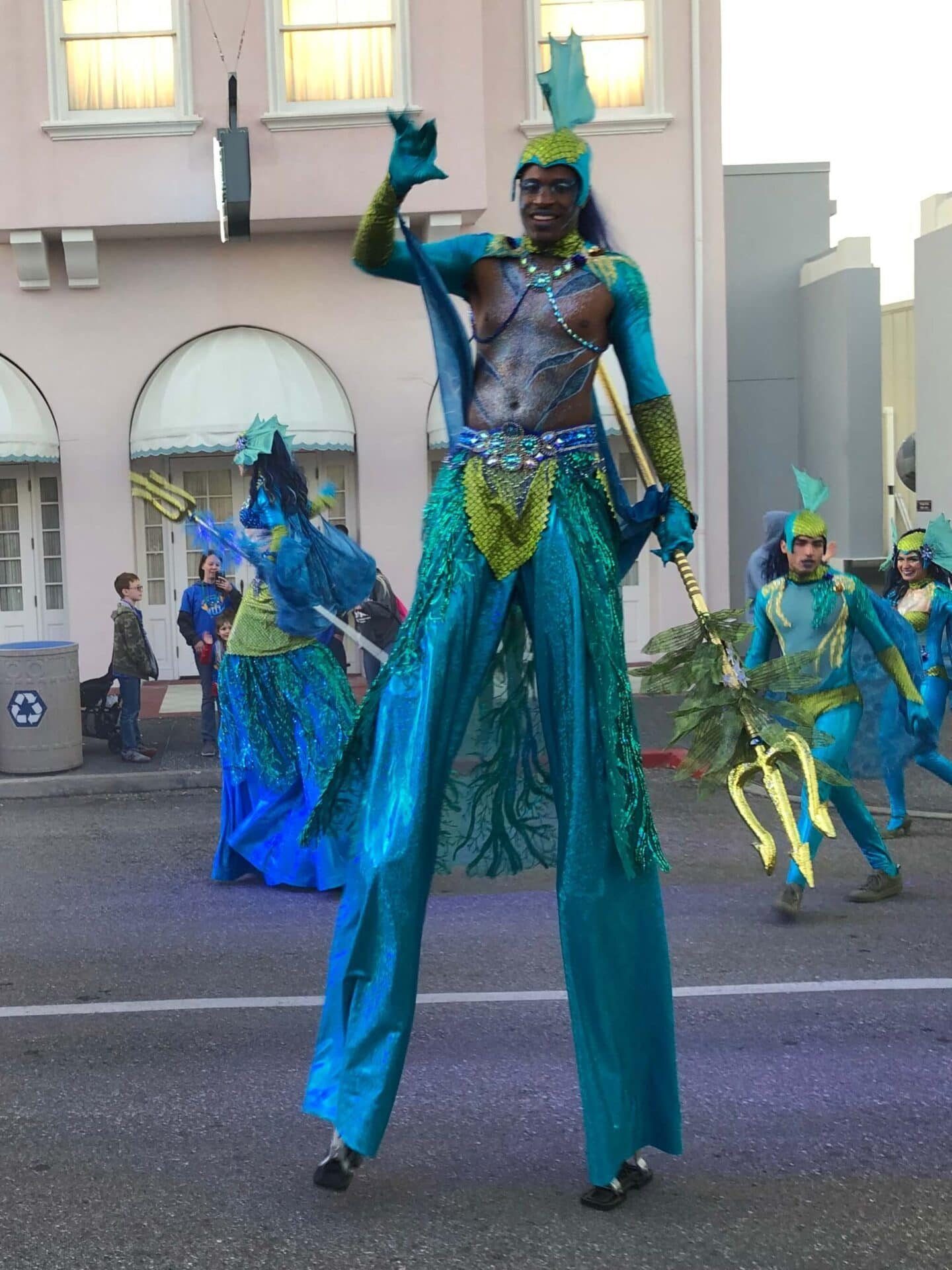 universal Orlando mardi gras parade - universal studios florida. the best universal Orland attractions with kids