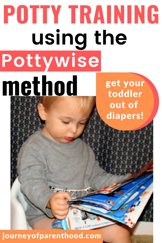 potty training using the pottywise method