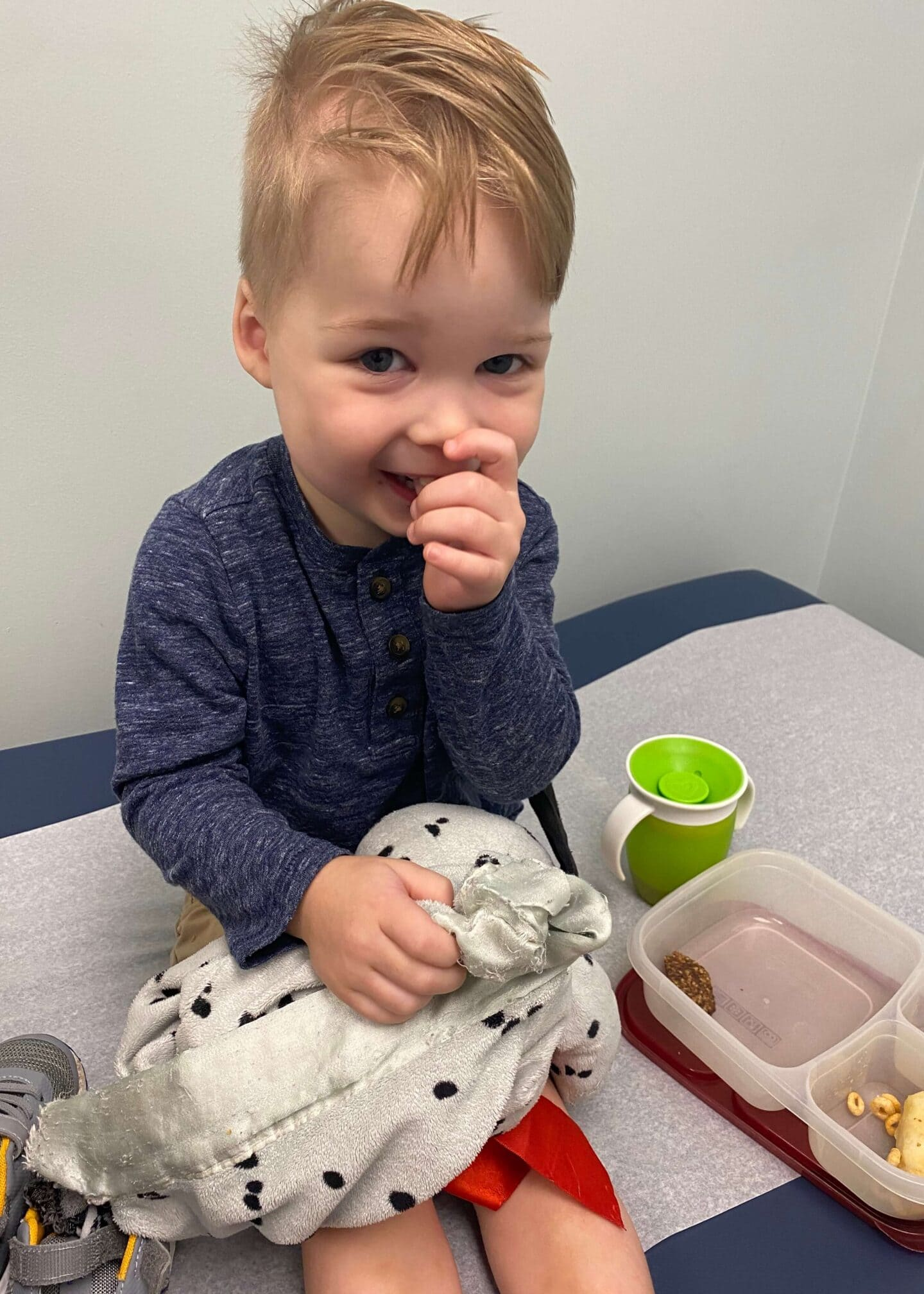 Spear's 2.5 Year Well Check Pediatrician Visit