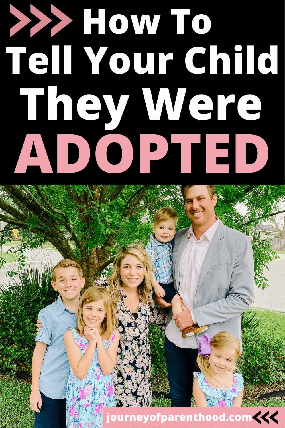 how to tell your child they were adopted