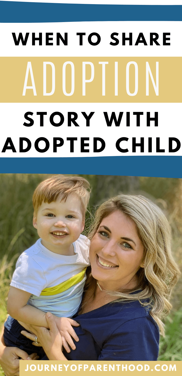 when to tell your child they are adopted