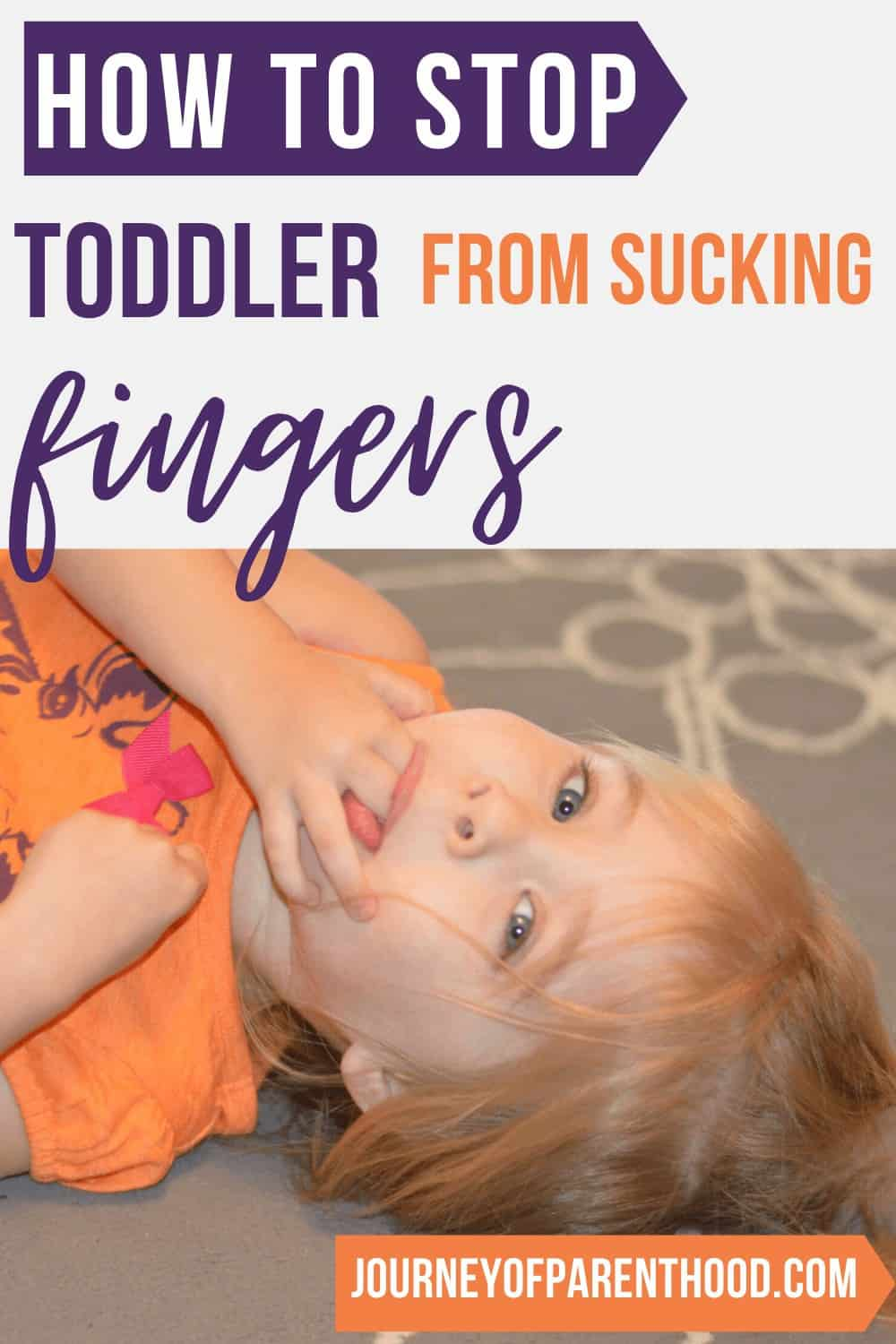 Weaning from Finger Sucking: How to Help Child Stop Sucking Their Fingers