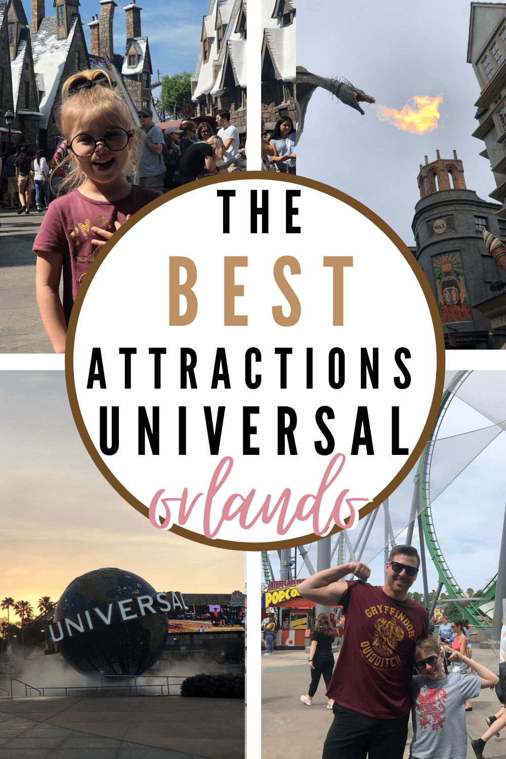 the best attractions at Universal Orlando with kids - florida