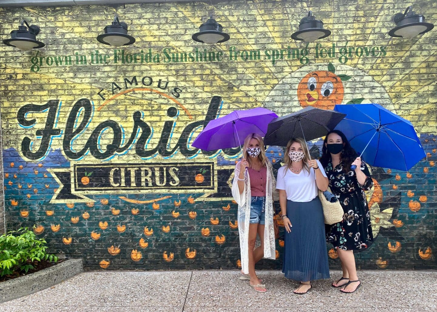 Girl's Weekend to Orlando and Disney Springs During Pandemic