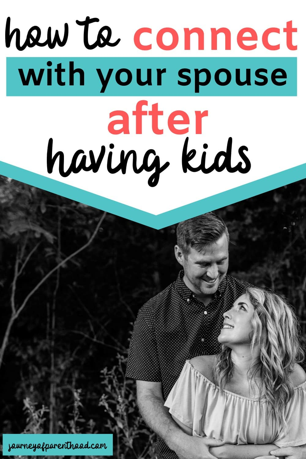 how to reconnect with your spouse after having kids