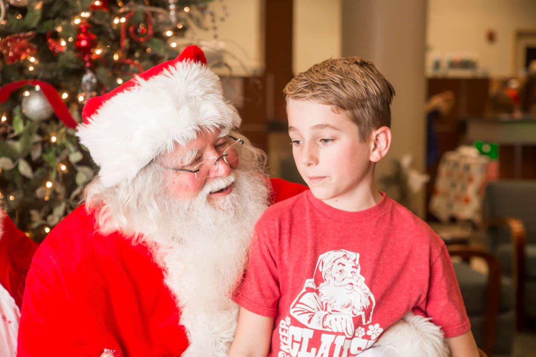 christmas spirit older child