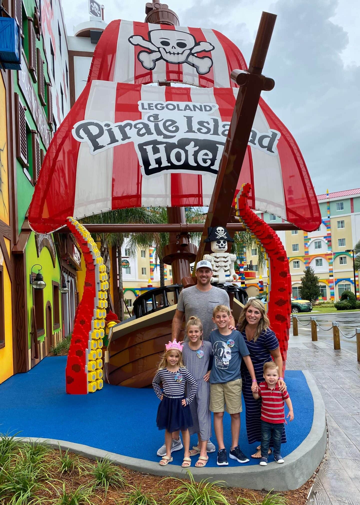 Our Stay at LEGOLAND Pirate Island Hotel: July 2020