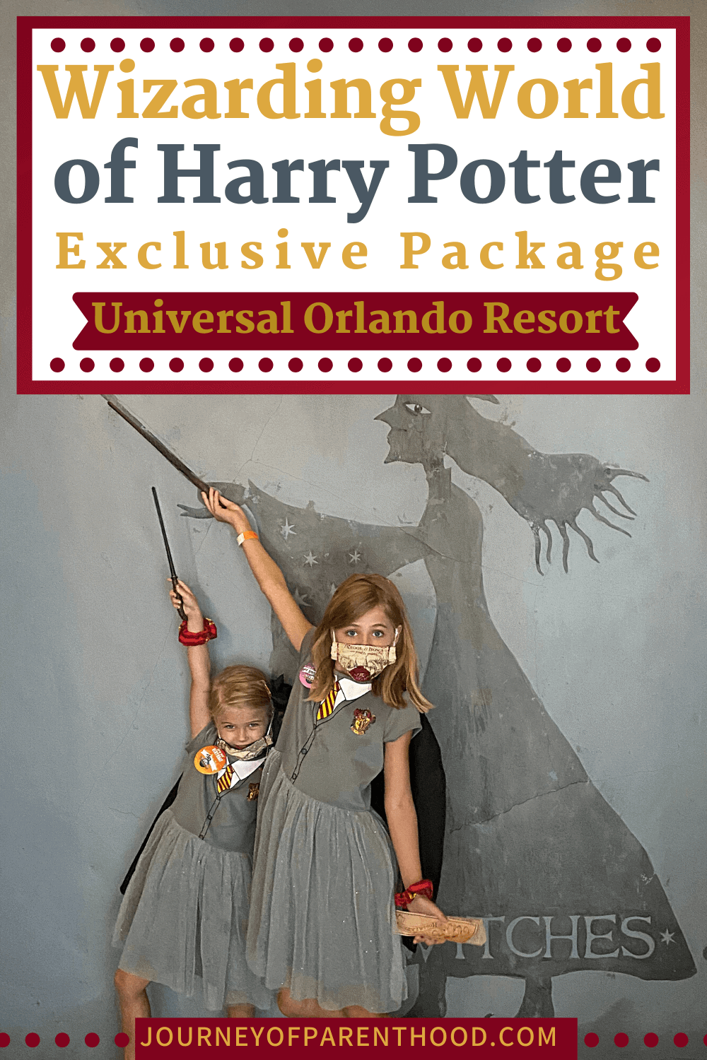 wizarding world of Harry Potter exclusive package at Universal Orlando Resort
