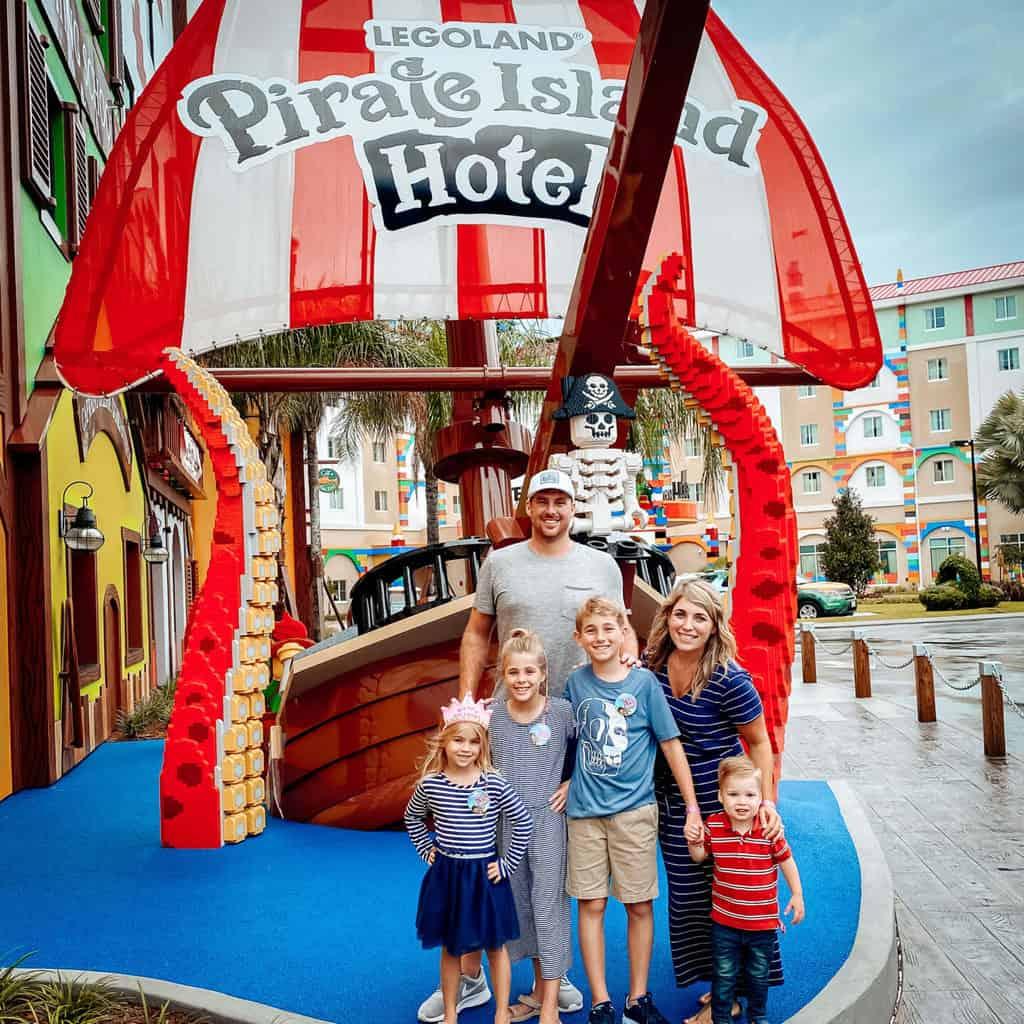 Tips for Visiting LEGOLAND Florida - LEGOLAND Travel Guide. LEGOLAND Pirate Island Hotel